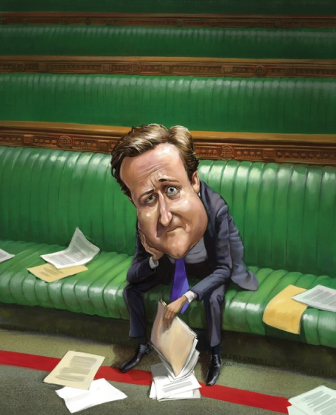 David Cameron (The Week)